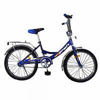"""Велосипед PROFI 20"""" W2046S синий"""