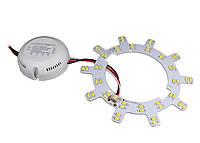 Комплект переоборудования круглого светильника FT-RS-32 Multi White, 12W, 220V, IP20, 1250Lm, 10000K белый, фото 1