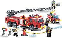 Конструктор Пожарная команда серии Пожарная служба Brick (908)