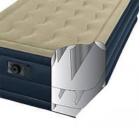 Односпальная надувная кровать со встроенным электрическим насосом Intex 191х99х46 см (67906)