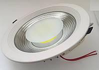 Светодиодный светильник Downlight 10Вт холодный белый круг (6500К) XR, фото 1