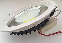 Светодиодный светильник Downlight 15Вт холодный белый круг (6500К) XR, фото 1
