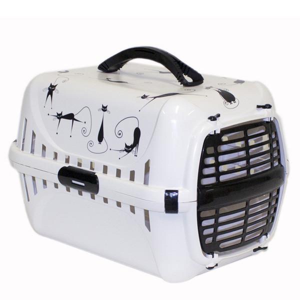 Moderna МОДЕРНА РОУД-РАННЕР 1 переноска для собак и кошек, с пластиковой дверью