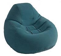 Надувное кресло-велюр Intex 122х127х81 см (68583)