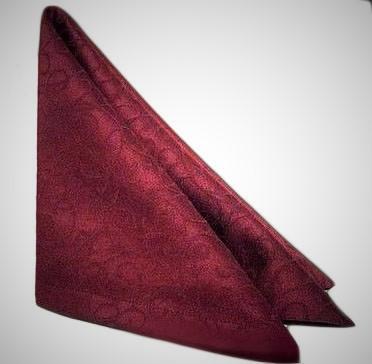 Салфетка тканевая сервировочная бордовая Atteks - 1439