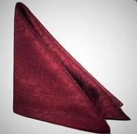Салфетка вьюнок бордовый