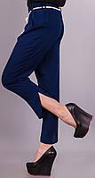 Миранда.Укороченные женские брюки.ТемноСиний.(Р)., фото 1