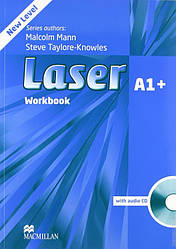 Laser A1+ Third Edition Workbook with Key and CD Pack (тетрадь с ответами и диском)