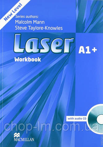 Laser A1+ Third Edition Workbook with Key and CD Pack (тетрадь с ответами и диском), фото 2
