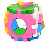 Сортер Куб Умный малыш Логика 2 (2469)