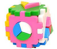 Сортер Куб Умный малыш Логика 2 (2469), фото 1