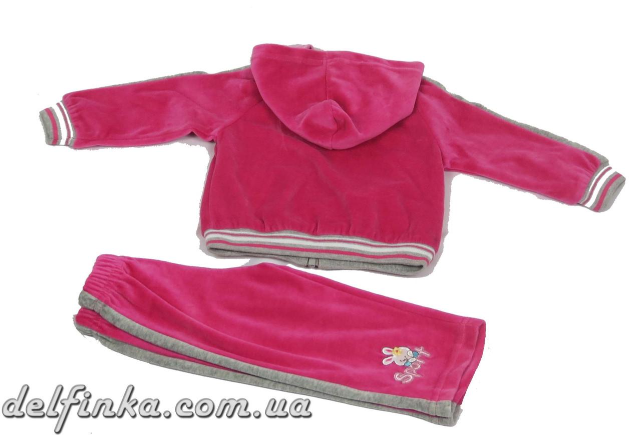 Костюм для девочки с 1 года до 3 лет, цвет: малина, фото 3