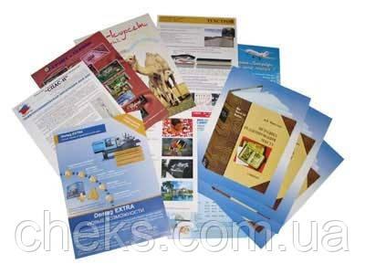 Печать листовок в Чернигове от ЧеКС! 1000 еврофлаеров 380 грн!
