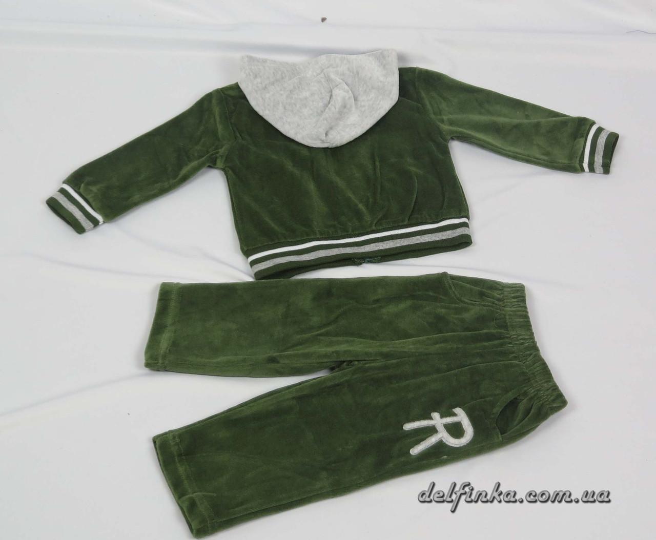 Костюм для мальчика с 1 года до 3 лет, цвет: зеленый, фото 3