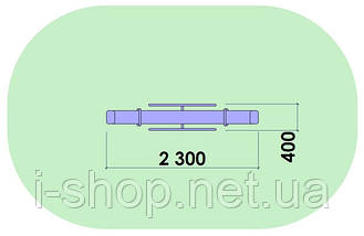 Качеля-балансир Старт с металлическим каркасом KIDIGO GBA001, фото 2
