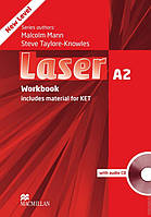 Laser A2 Third Edition Workbook with Key and CD Pack (тетрадь с ответами и диском)