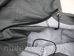 Комбинезон рыболовный 46р белоруский с рукавами и капюшоном (Пласттрейд, БелФут), фото 3