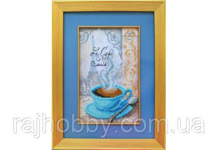 Повітруля Набор для вышивки бисером Чашка кави