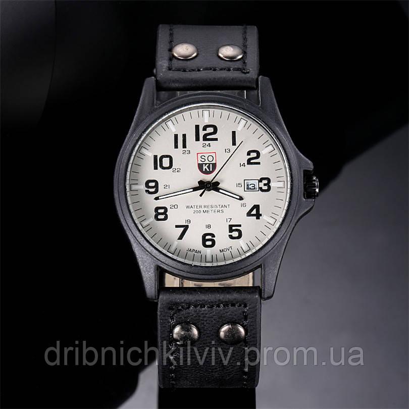 Мужские часы SOKI Черные