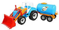 Детский трактор Скрепер-молоковоз Тигр Орион (051), фото 1