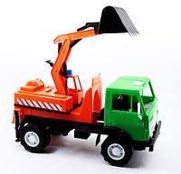 Игрушечная машинка Камаз Х2 Экскаватор Орион (495), фото 1