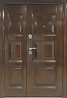 Входные двери ТР-443АВ+мин.вата покрытие структурированное травление 1200 мм, фото 1