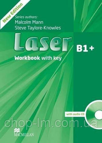 Laser B1+ Third Edition Workbook with Key and CD Pack (тетрадь с ответами), фото 2
