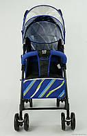 Коляска прогулочная JOY S 608 Синяя***