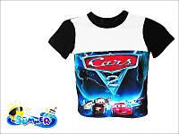 Детские футболки с тачками