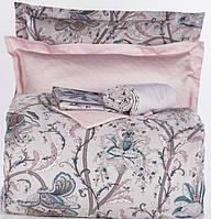 Комплект постельного белья 200х220   KARACA HOME 2017 сатин DALEN MAVI