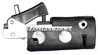 Кнопка отбойного молотка с резиновой обоймой