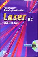 Laser B2 Third Edition Student's Book and CD ROM Pack (учебник с диском)