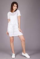 Отличное платье белого цвета на лето