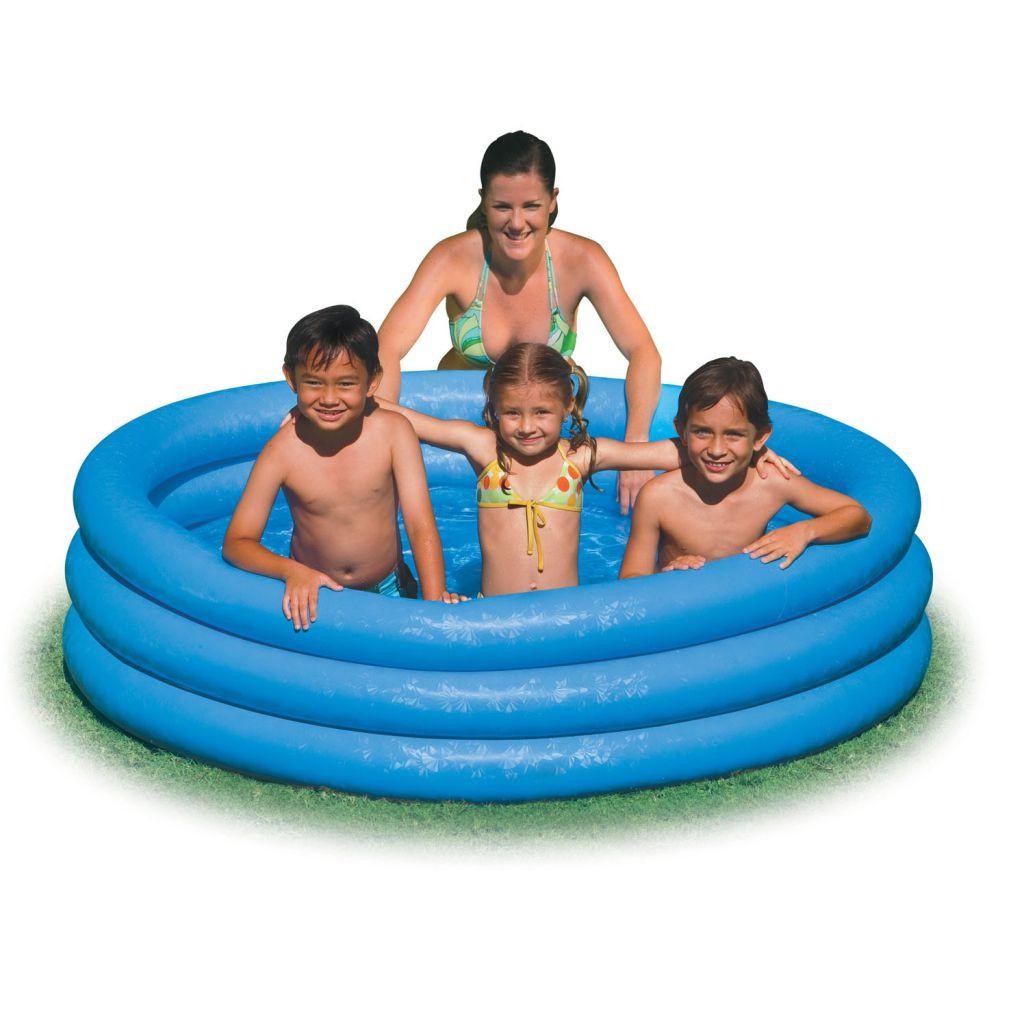 """Дитячий надувний басейн """"Кришталевий"""" Intex 59416"""