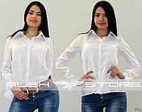 Батистовая рубашка с бантами