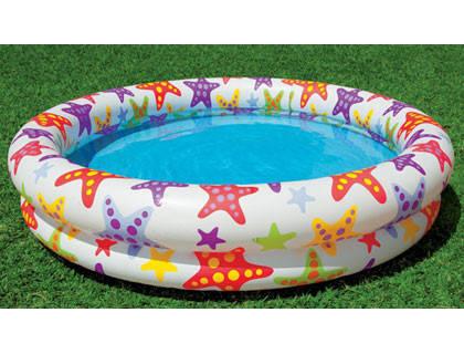 """Дитячий надувний басейн """"Зірочки"""" Intex 59421,122*25, фото 2"""