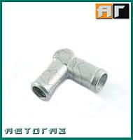 Коліно сполучне 16 мм метал 16x16