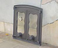 Дверцы для коптилки (стекло+термометр)