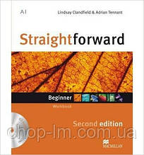 Straightforward Second Edition Beginner Workbook + CD with Key (тетрадь с ответами)