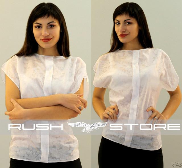 Купить белую батистовую блузку