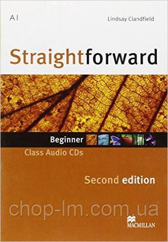 Straightforward Second Edition Beginner Class Audio CD (аудио диск к уровню Beginner)