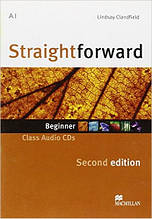 Straightforward Second Edition Beginner Class Audio CD (аудио диск к уровню Beginner)