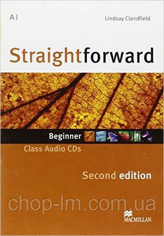 Straightforward Second Edition Beginner Class Audio CD (аудио диск к уровню Beginner) , фото 2