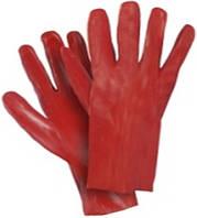Перчатки покрытые ПВХ 27 см