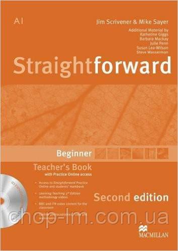 Straightforward Second Edition Beginner Teacher's Book Pack (книга для учителя с диском)