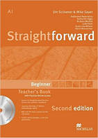 Straightforward Second Edition Beginner Teacher's Book Pack (книга для учителя с диском)