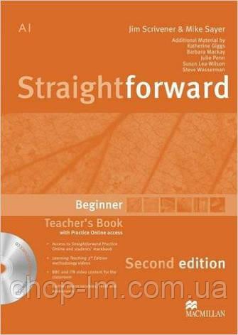 Straightforward Second Edition Beginner Teacher's Book Pack (книга для учителя с диском), фото 2