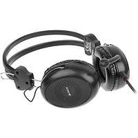 A4tech HS-30 (black) наушники с микрофоном