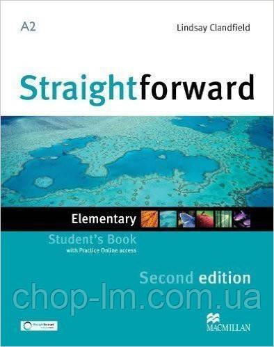 Straightforward Second Edition Elementary Student's Book (учебник 2-е издание)