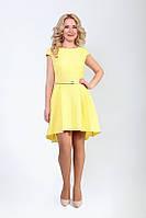 Желтое женское платье от производителя